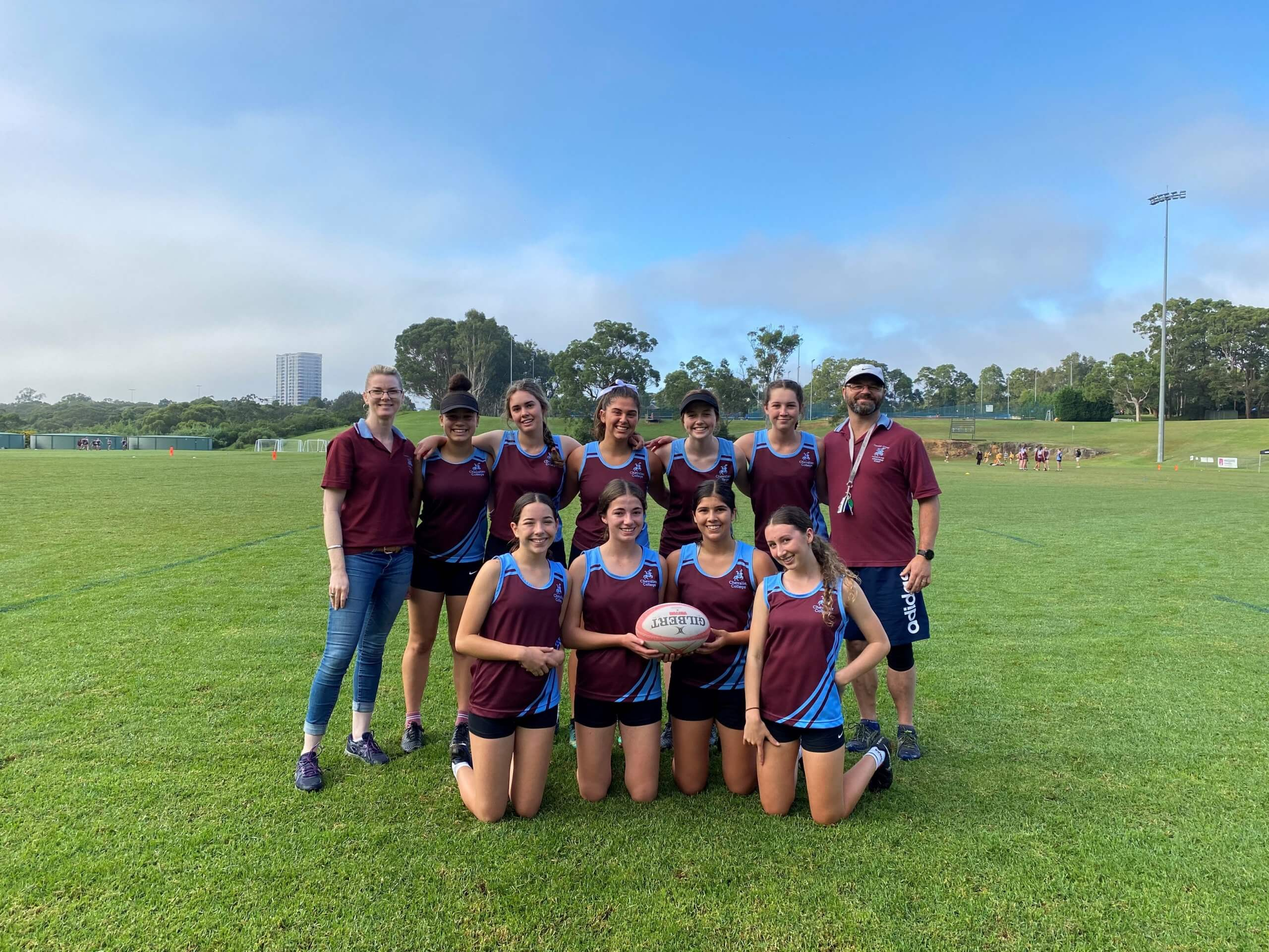 Chev 4 Touch Football Girls enjoyed a 5-0 win over Barker in the 2021 ISA Summer Finals